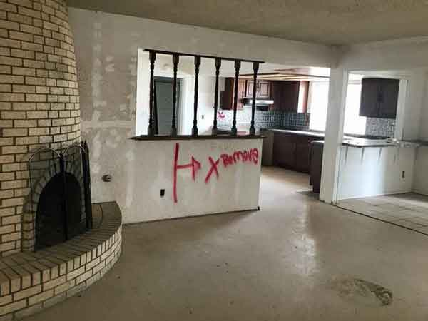 We buy houses in El Paso in any condition for cash.