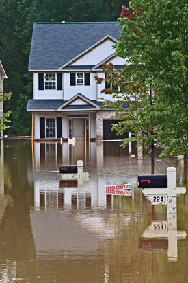 Disasters can strike at any time and include floods, hurricanes, tornadoes, earthquakes, heat, and drought are some of the natural disasters that can severely damage or destroy a home.